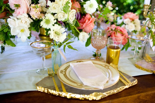Pretty Place Settings : Luxe Events